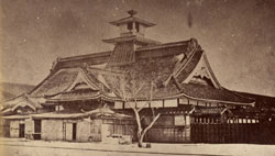 竣工当時の箱館奉行所