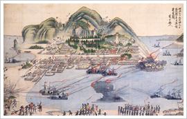 (8)箱館戦争図