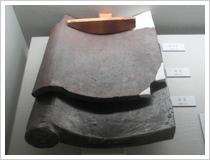 (15)発掘調査で出土した屋根瓦