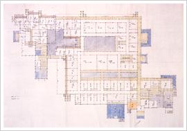 (17)五稜郭庁舎平面図