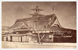 箱館奉行所庁舎古写真