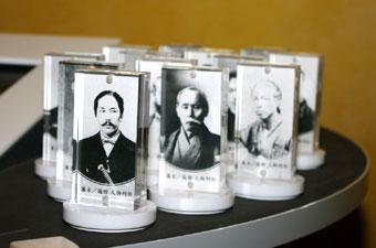 函館の歴史上の人物がこんな形をしていますが、それにはわけが…