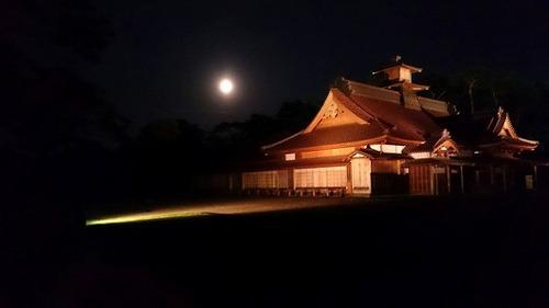 月と奉行所
